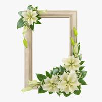 flower arrangement 3d model