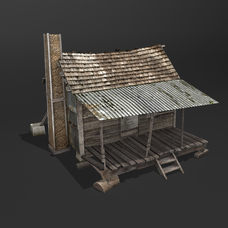 max old wooden house games