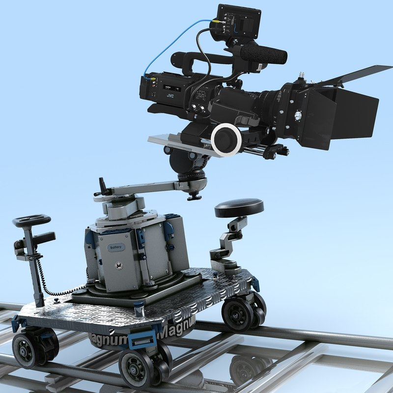 3ds max camcorder jvc gy-hd110u magnum