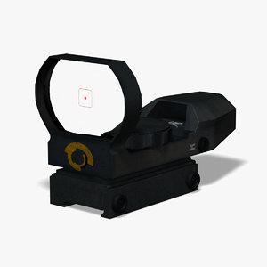 optical collimator 3d model