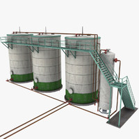 Oil Storage and Separator