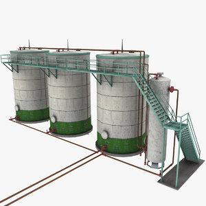 3ds oil separator storage