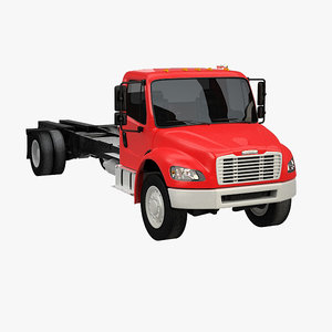 freightliner m2 106 base 3d 3ds