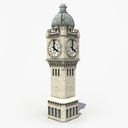 clock tower 3D models