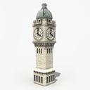 clock tower 3D models