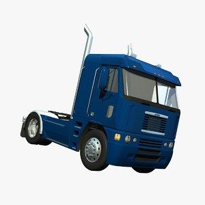 lwo freightliner argosy truck mid-roof