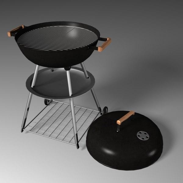 grill 3d max