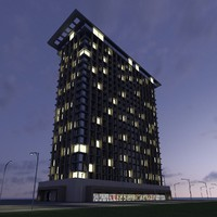 New Skyscraper 7 - Night