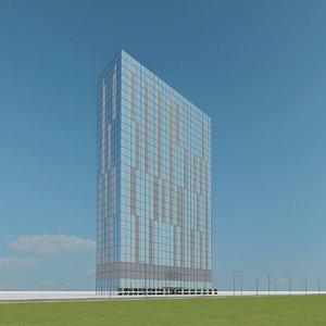 3d new skyscraper 09 model