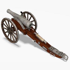 3d field cannon