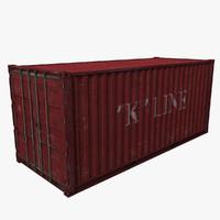 max cargo 20 container