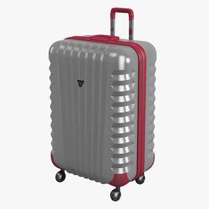 roncato roll suitcase 3d 3ds