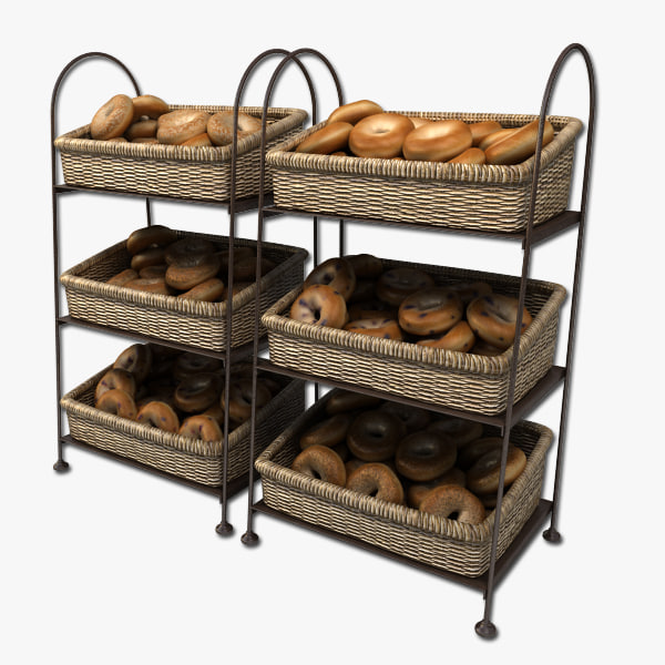 bagel displays 3d model