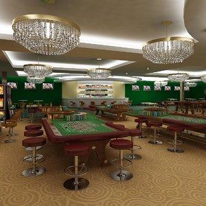 casino 5 roulette tables max