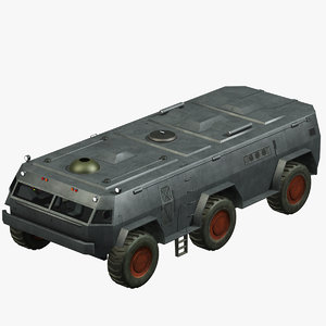 3d model of vehicle exploration