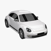 3d model new beetle 2012