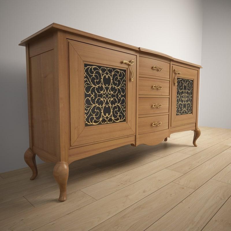 3d wood giorgio casa model