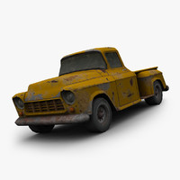 chevy truck 3d model