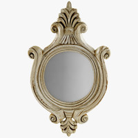 3d max antique mirror