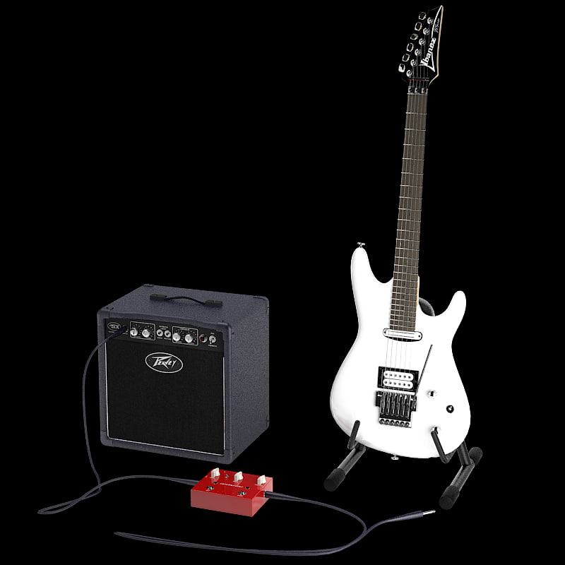3d joe satriani guitar model