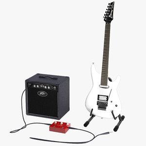3d joe satriani guitar model