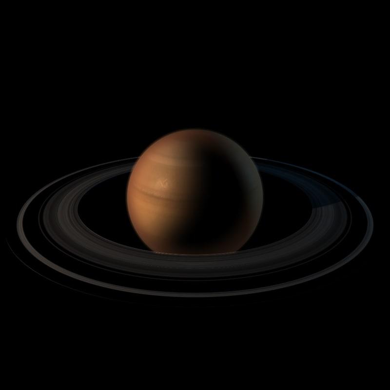 saturn planet c4d