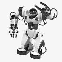 3d robosapien robot toy model