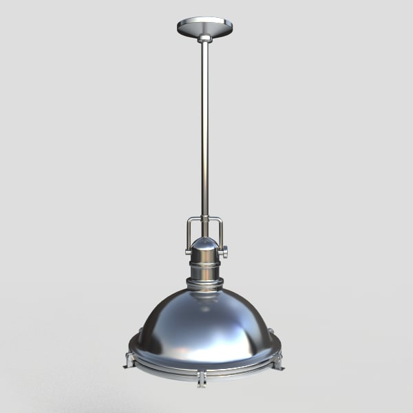 pendant light fixture 3d max