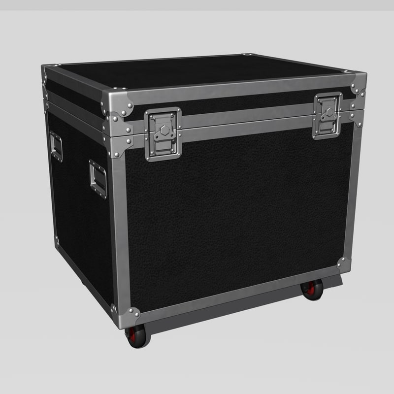 stage trunk 3d model