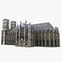 3d westminster abbey st