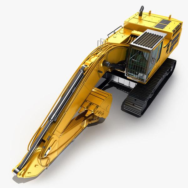 hydraulic excavator max