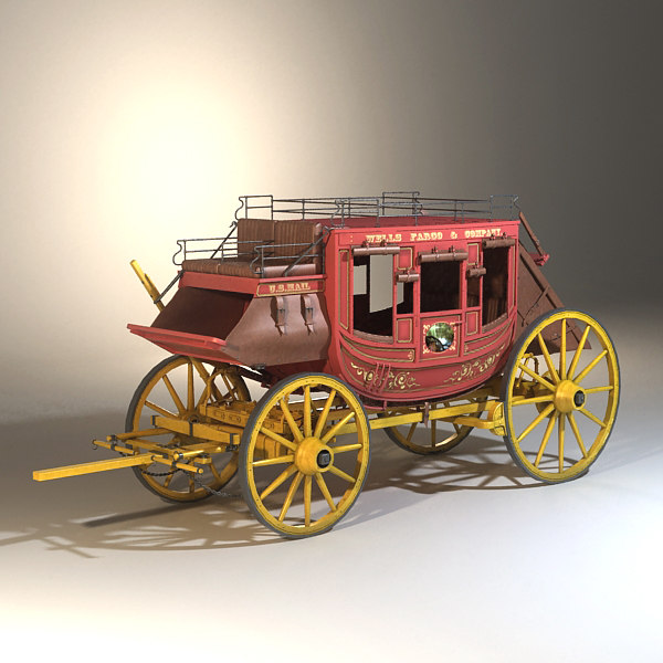 stagecoach classic 3d model