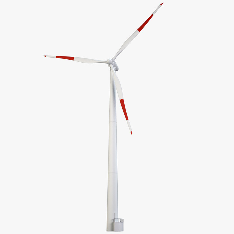 3d wind power station