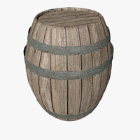 barrel contain 3d model