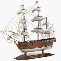 Bounty Sailboat Ship