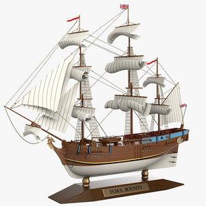 max bounty sailboat ship