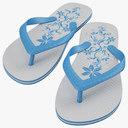 flip-flops 3D models