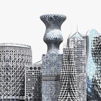 Futuristic Skyscrapers 2