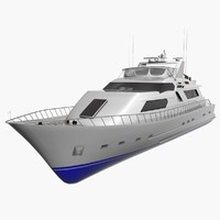 spirit yacht 3d max