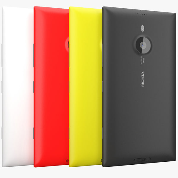 3d nokia lumia 1520 model
