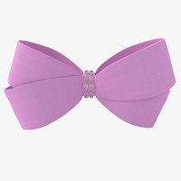 3ds max hair bow