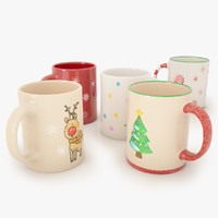 3ds christmas mugs