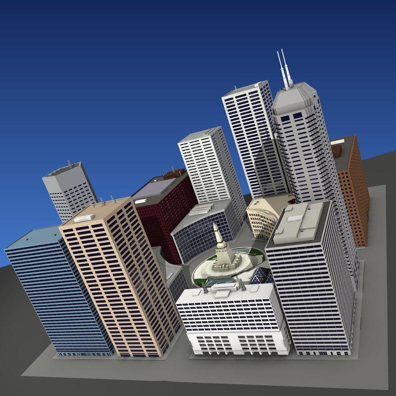 city buildings max