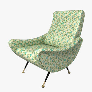 armchair 1960 style xsi