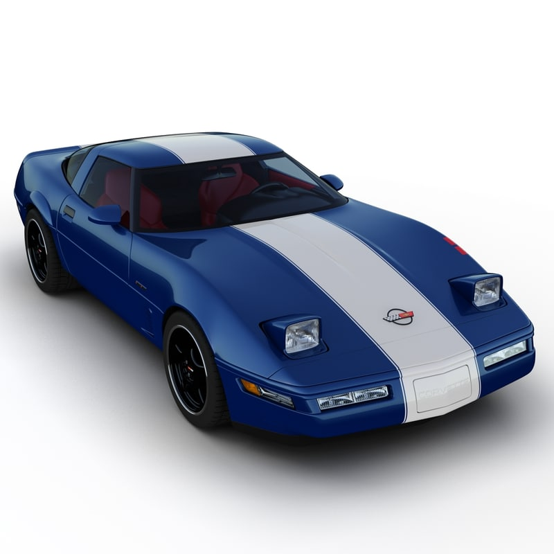 chevrolet corvette grand sport 3ds