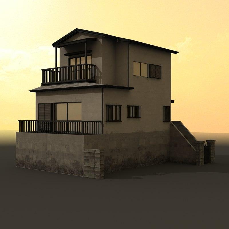 lwo japanese residential house