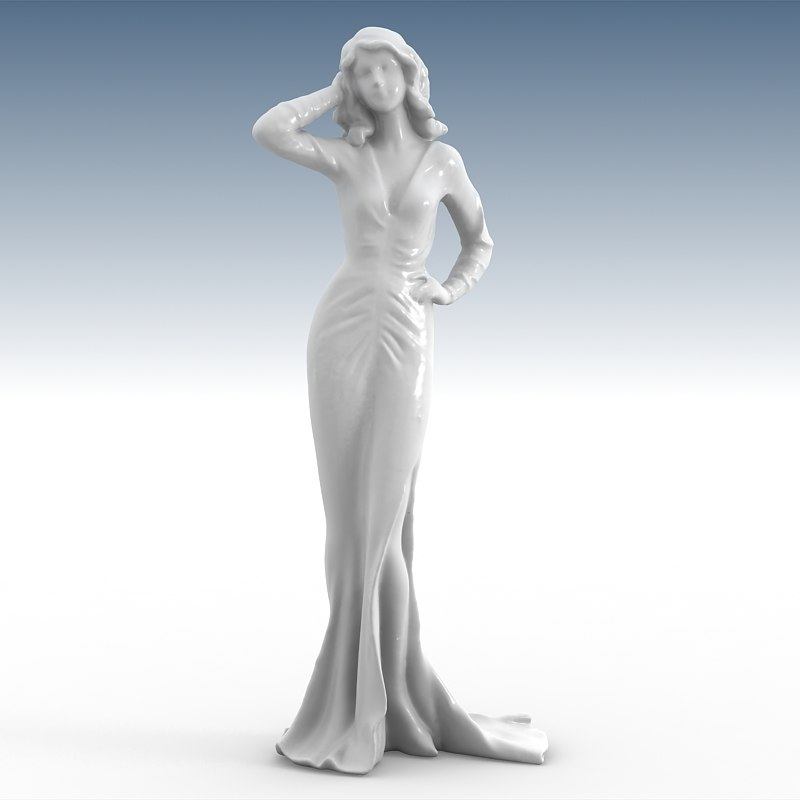 max female figurine
