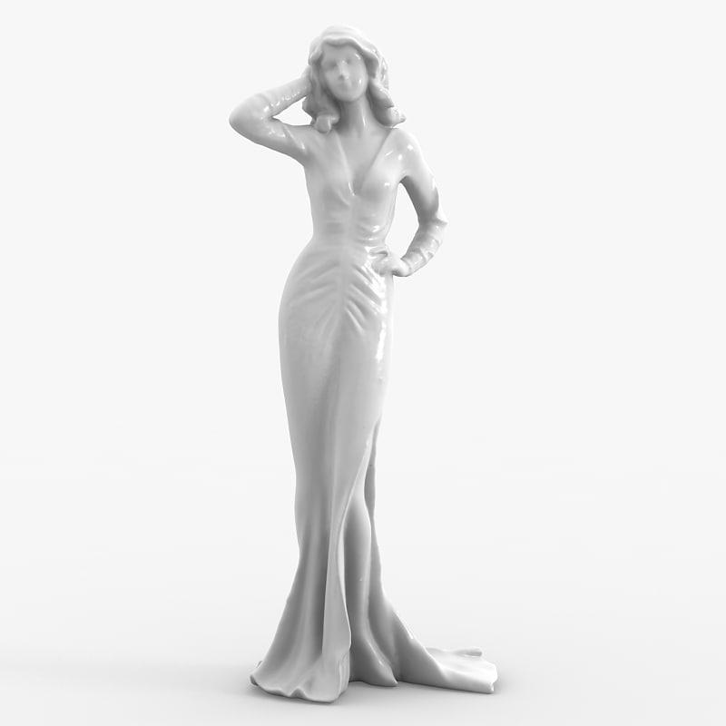max female figurine