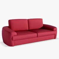 3d max office sofa