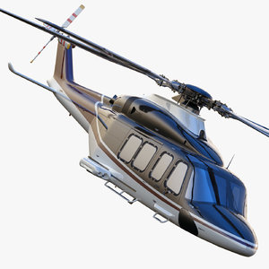 agustawestland aw139 helicopter d 3d max